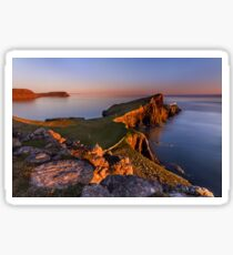 Neist Point. Isle of Skye. Scotland. Sticker