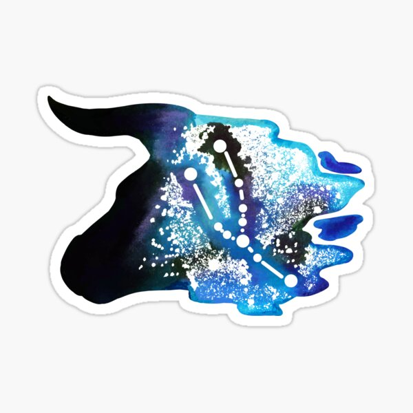 Taurus Zodiac Constellation Sticker