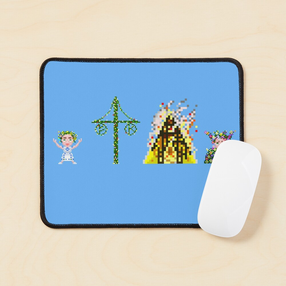 Mid-summer Diptych Mouse Pad