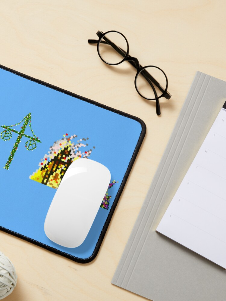 Alternate view of Mid-summer Diptych Mouse Pad