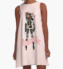 Fight Like a Girl: Big Sister A-Line Dress