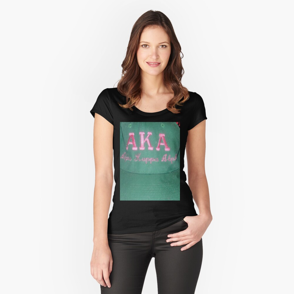 AKA Collection  Fitted Scoop T-Shirt