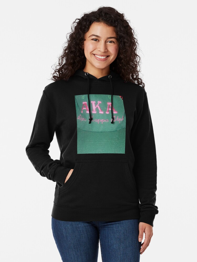 Alternate view of AKA Collection  Lightweight Hoodie