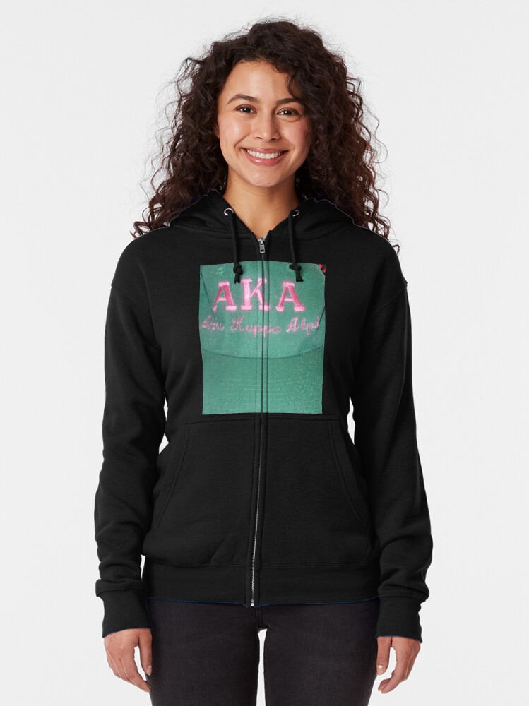 Alternate view of AKA Collection  Zipped Hoodie