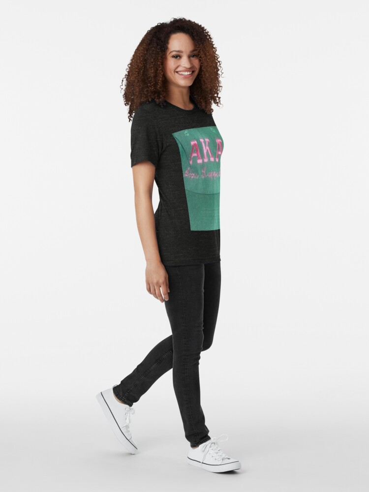 Alternate view of AKA Collection  Tri-blend T-Shirt
