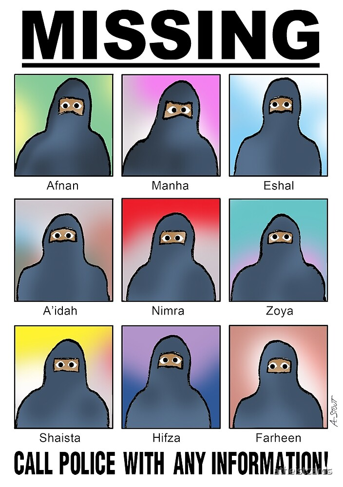 Missing Muslims! by atheistcards