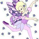 Lavender Fairy Dancer by redqueenself