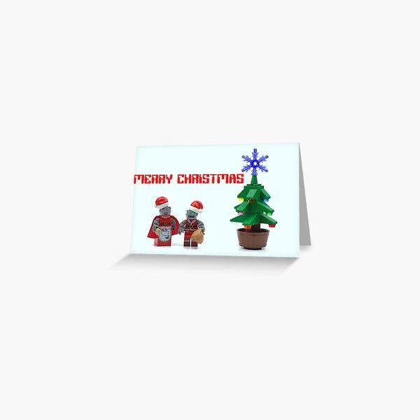 Robot Christmas (Text) Greeting Card