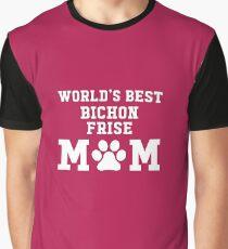 World's Best Bichon Frise Mom Graphic T-Shirt
