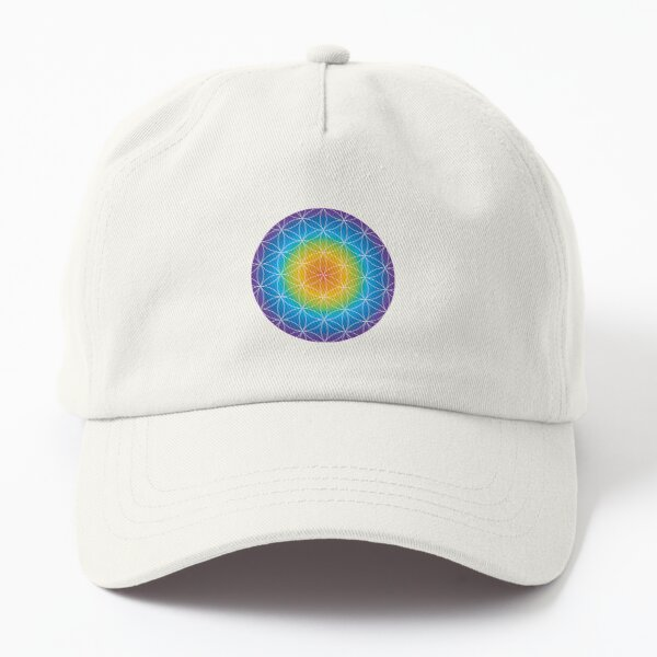 Flower of Life Dad Hat