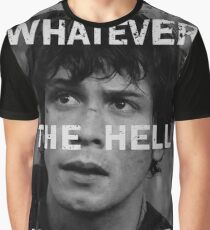 Bellamy - The 100 - Whatever the hell we want Graphic T-Shirt