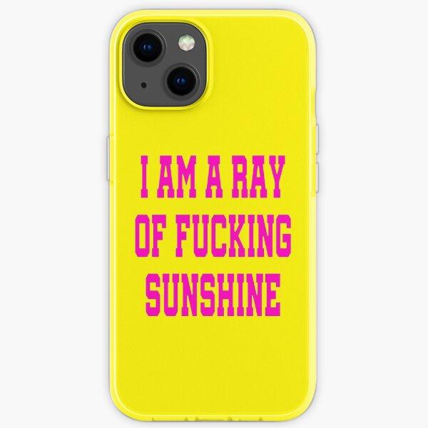 I Am A Ray Of Fucking Sunshine - I'm a Ray Of Sunshine Funny Davina McCall iPhone Soft Case