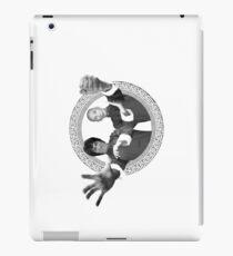 Bruce Lee & Ip Man - Grandmaster Duo Mono iPad Case/Skin