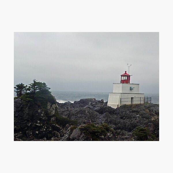 BC Lighthouse Photographic Print