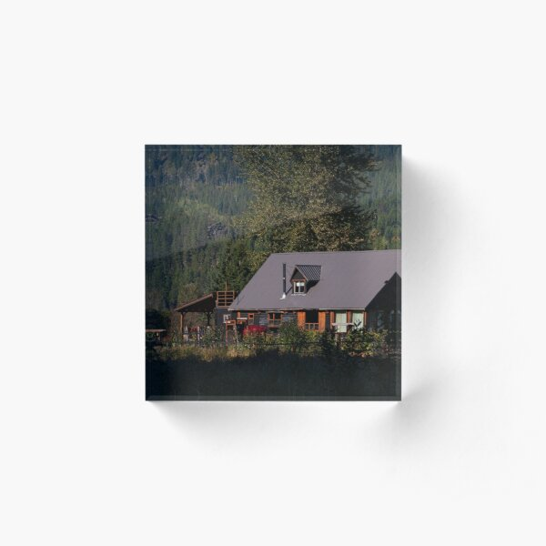 Farmhouse Acrylic Block