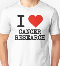 I Love Cancer Research Unisex T-Shirt