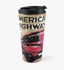 Vintage Route US 66 Travel Mug