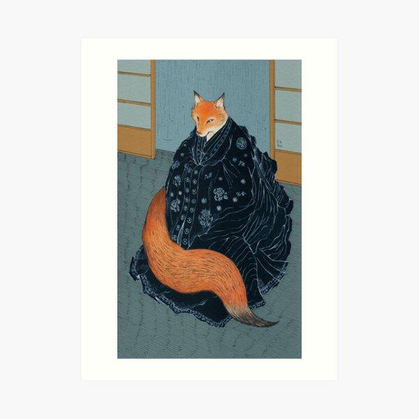The Fox's Wedding Art Print