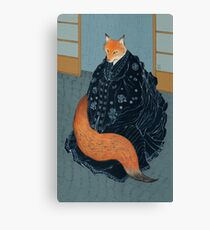 The Fox's Wedding Canvas Print