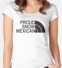 Proud Snow Mexican Women's Fitted Scoop T-Shirt