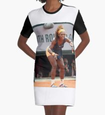 Serena Williams  Graphic T-Shirt Dress