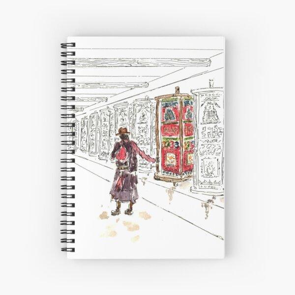 Tibetan Monastery  Spiral Notebook