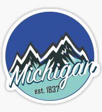 Pegatina Michigan 1
