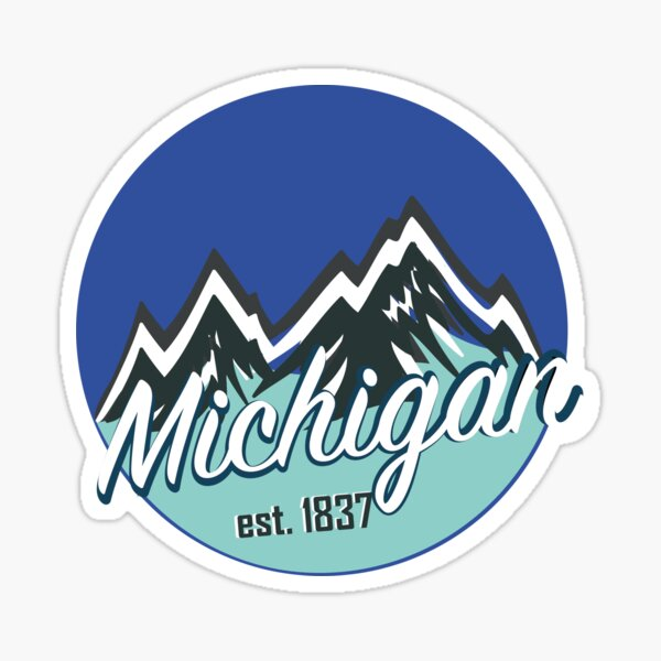 Michigan 1 Sticker