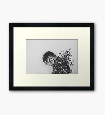 Defragmentation Framed Print