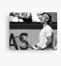 Rafael Nadal Canvas Print