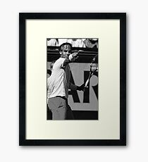 Rafael Nadal Framed Print