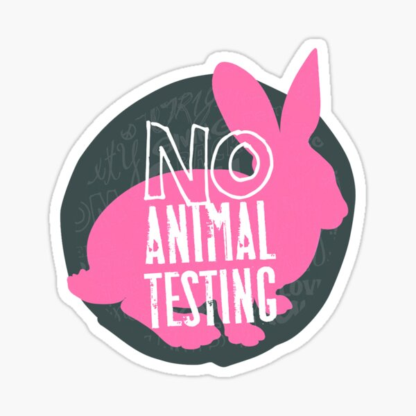 PETA - SAy No To Animal Testing Sticker