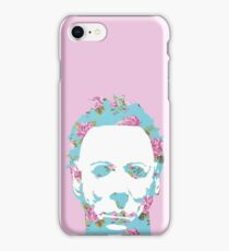 Floral Michael Pop Art iPhone Case/Skin