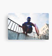 Captain SpiderMan 2 - DavidMenziesCosplay Canvas Print