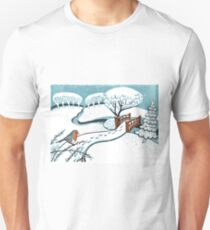 Snow, Bournemouth Gardens Unisex T-Shirt