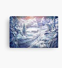 Winter Endurance Canvas Print