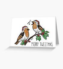 Merry Tweetmas Greeting Card
