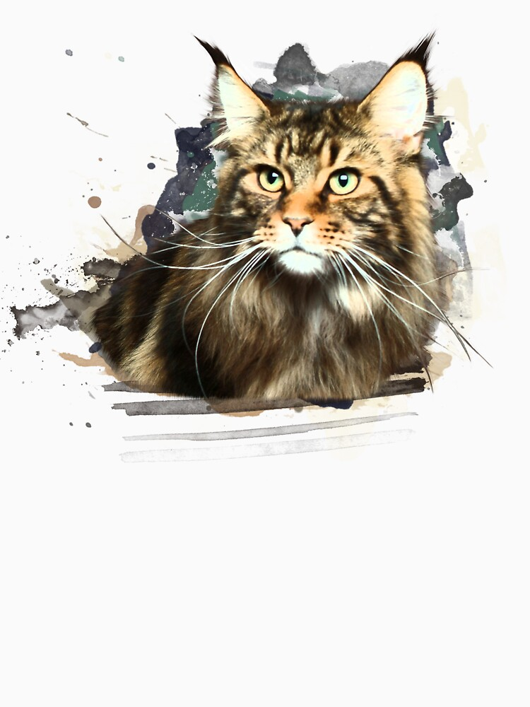 Maine coon art by HaruArt