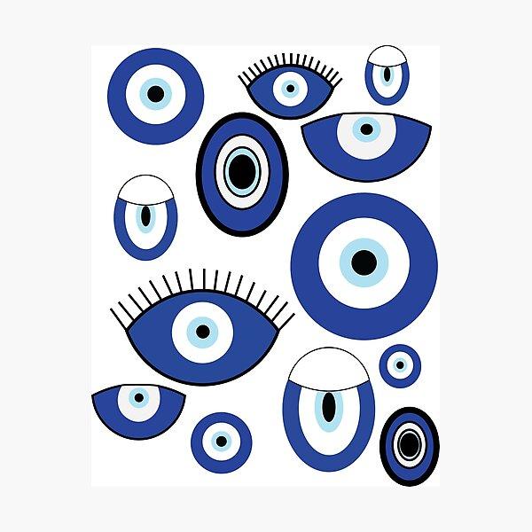 Evil eyes Photographic Print