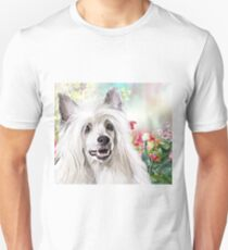 Chinese Crested Painting  Unisex T-Shirt