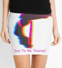 Dare To Be Yourself Mini Skirt