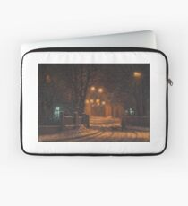 Evening in orange colours Laptop Sleeve