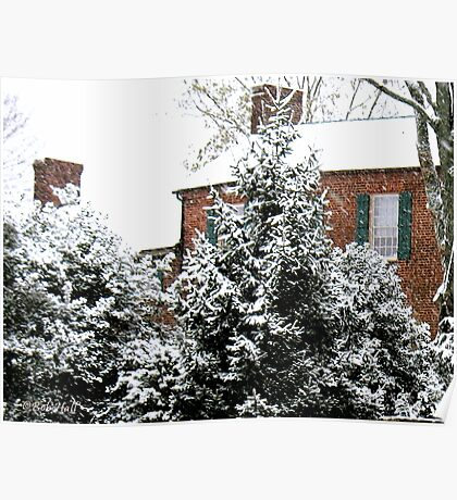 """""""Home for Christmas""""... prints and products Poster"""