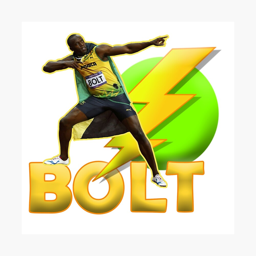 Usain Bolt Jamaica Poster FREE US SHIPPING