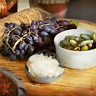 Food - Fruit - Gherkins and Grapes by Mike  Savad