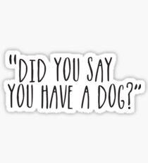 Pegatina ¿Perro?