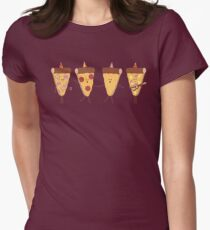 Pizza Party Women's Fitted T-Shirt