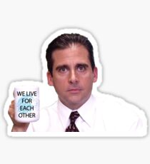 Michael Scott ADp Sticker