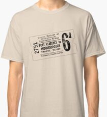 Vintage Transporter Ticket 6d Classic T-Shirt