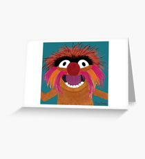 Animal Life Greeting Card